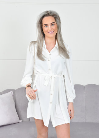 Ymke dress white