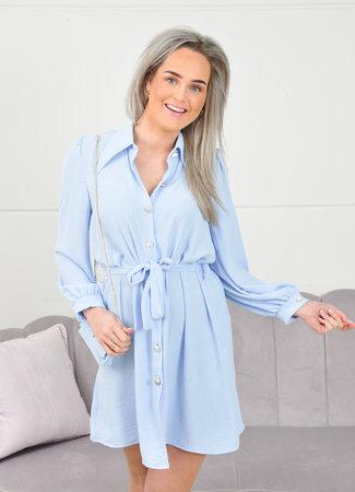 Ymke dress light blue