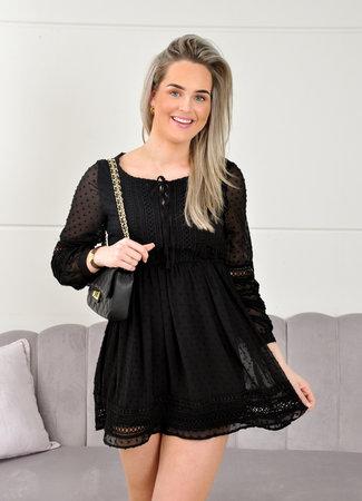 Riviera dress black