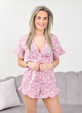 Madelief playsuit pink