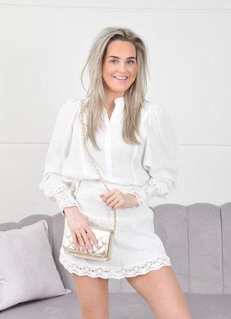 Fay skirt white