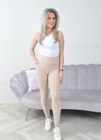 Jane sport legging beige