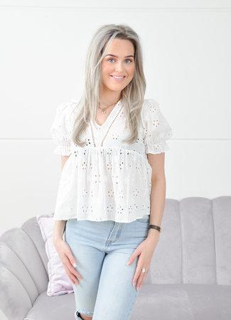 Larissa blouse white