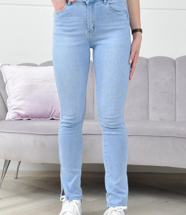 Robin split jeans