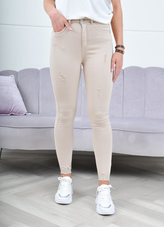 Claire jeans beige