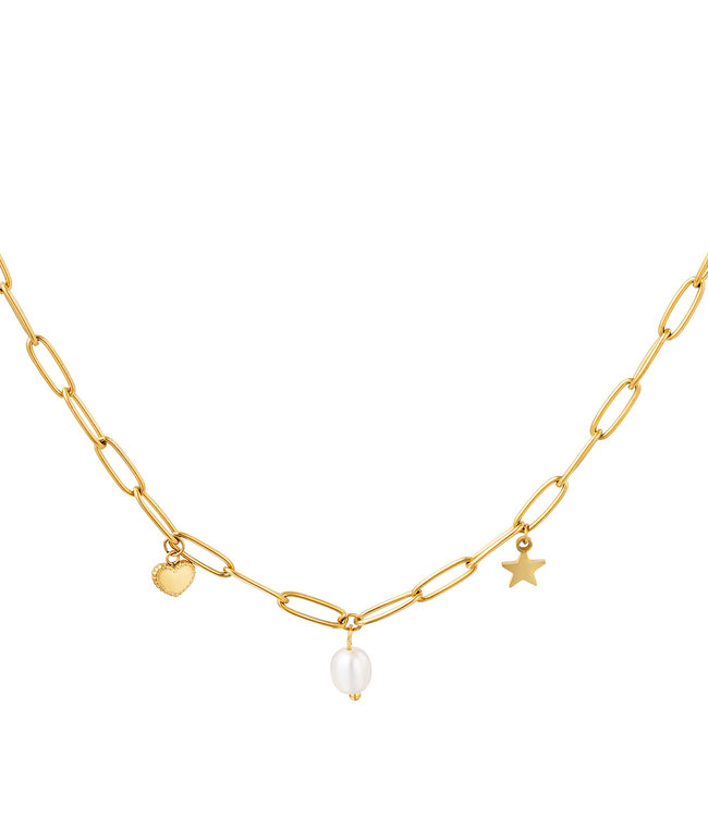 Alisa necklace pearl