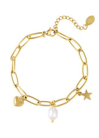 Alisa bracelet pearl