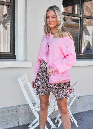 Pleun knit pink
