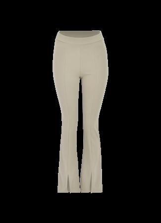 Blossom split pants green