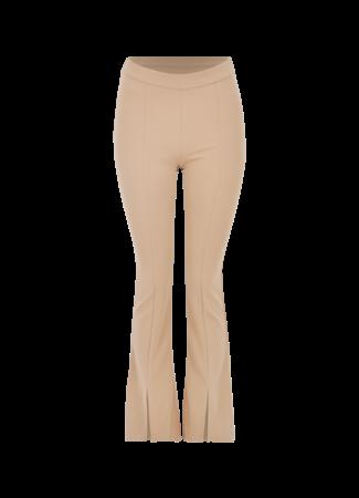 Blossom split pants camel
