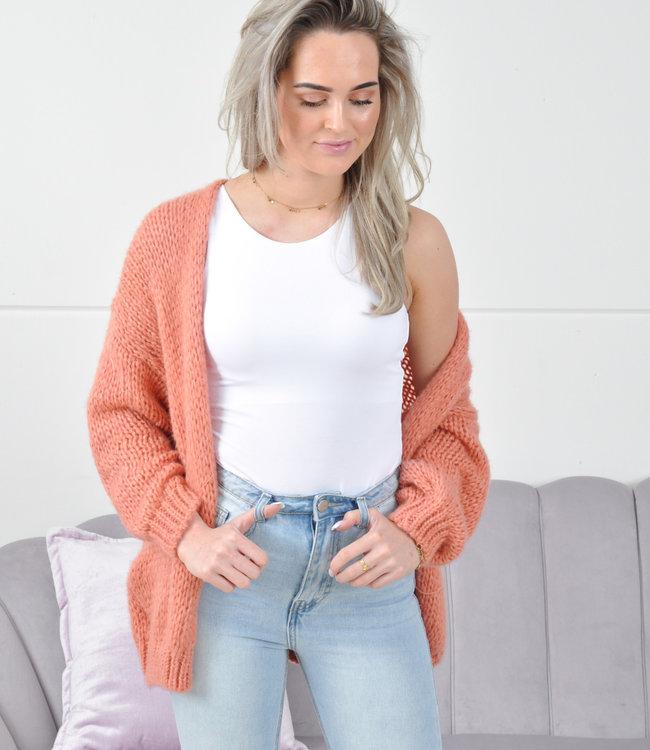 Jessie vest coral