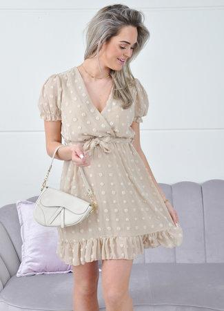 Jara dress beige