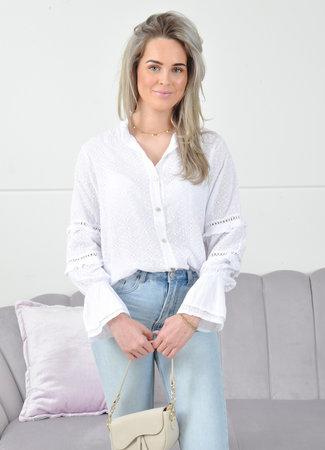 Hannah blouse white