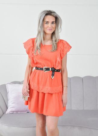 Lauren dress orange