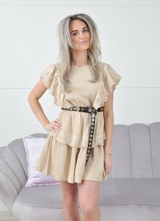 Lauren dress beige