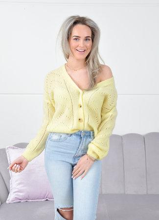 Paradise knit yellow