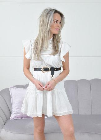 Carmen dress white
