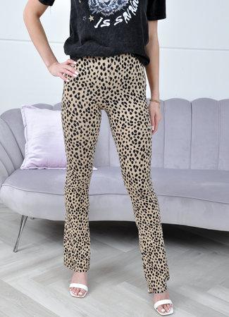 Lisa flared pants leo