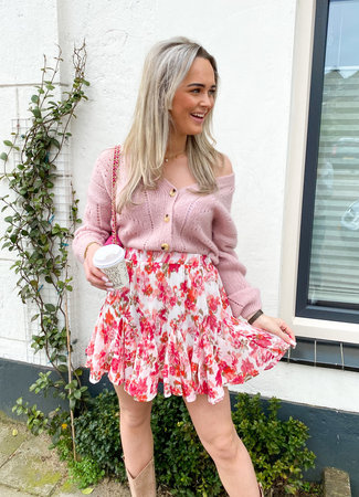 Stacey skirt pink