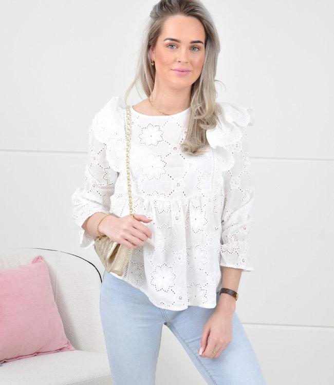 Jamie blouse white
