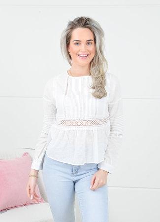 Ashley blouse white