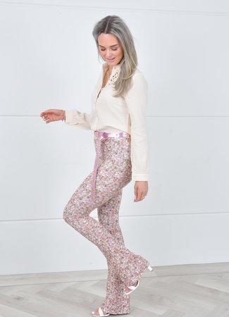 Flowie flared pants lila
