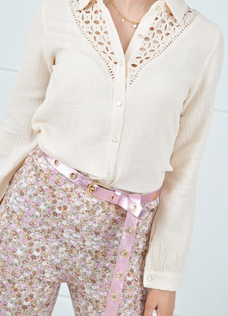 Alice wikkelriem pink