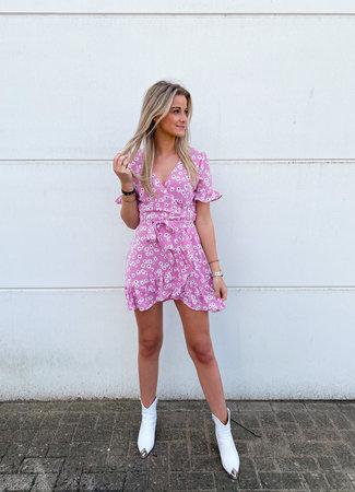 Jenn dress pink