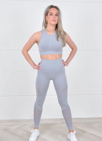 Gia sporty set grey
