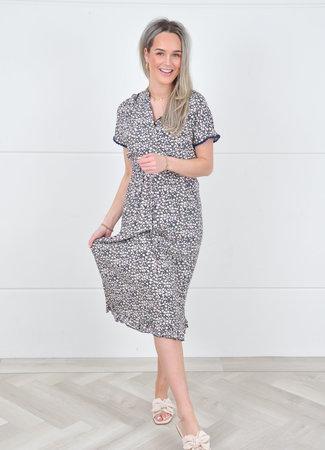 Imane maxi dress blue