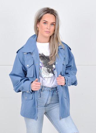 Gigi jacket blue