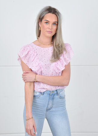 Lexy top pink