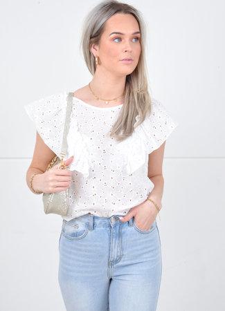Lexy top white