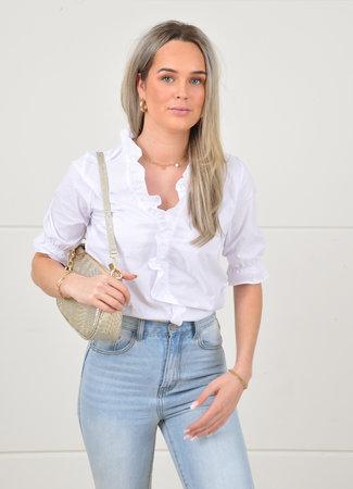 Deli white blouse