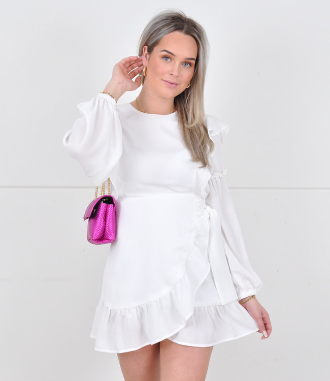 Hayley dress white