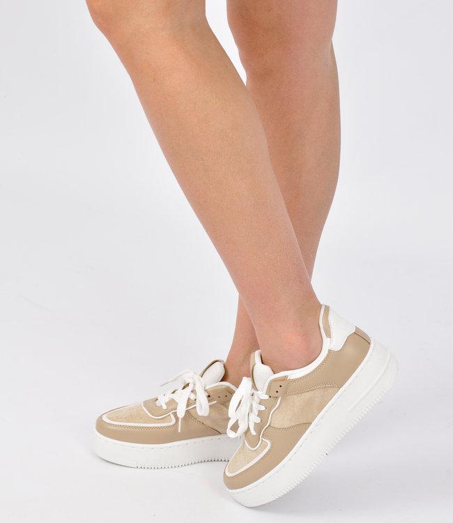 Lio sneaker beige