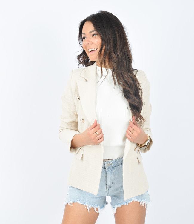 Laura blazer beige