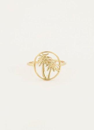 Ring twee palmbomen