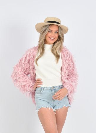 Izzy vest pink