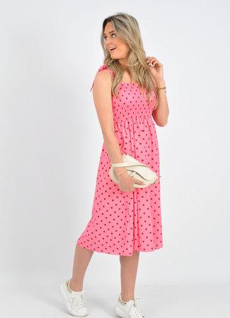 Lorna dress pink