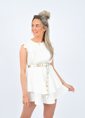 Camela dress white