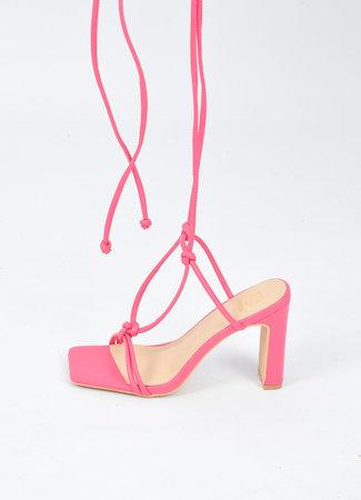 Kel heels pink