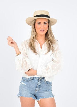 Florien blouse white