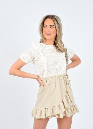 Hannah skirt beige