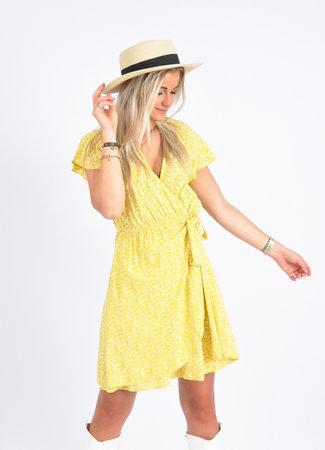 Famke dress yellow