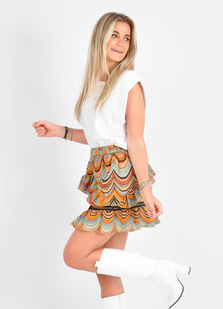 Mara skirt yellow