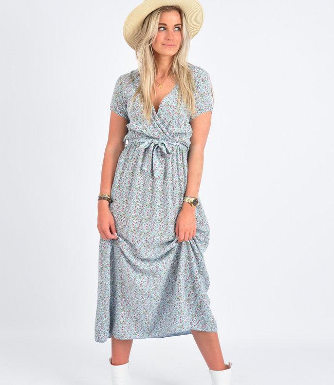 Lucy maxi dress blue