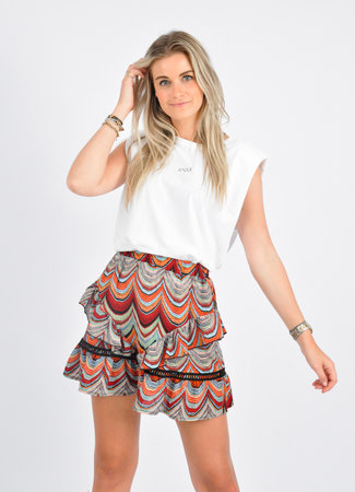 Mara skirt orange