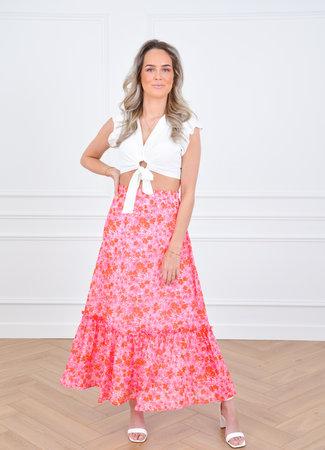 Djoy maxi skirt pink