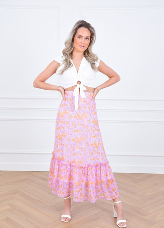 Djoy maxi skirt lila